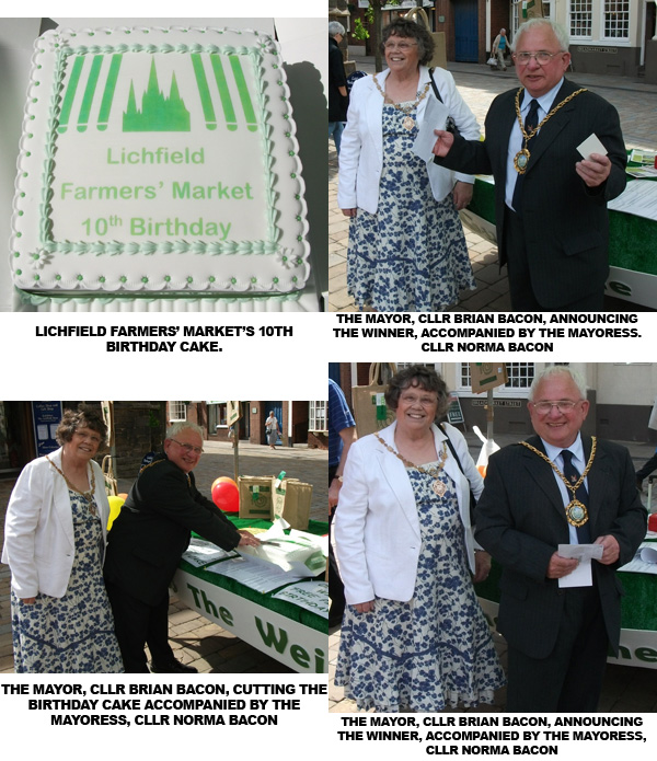 10th anniversary of lichfield farmers market